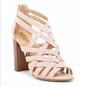 Sam Edelman Yori Suede Strappy Stacked Sandals